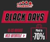 Black Days la evoMAG 2020