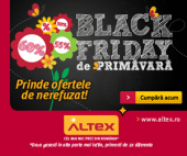 Black Friday de Primăvară la ALTEX 2020