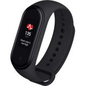 Smartband fitness Xiaomi Mi Band 4, HR, Negru Black Friday 2021